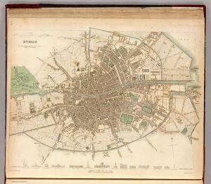 1836 map of Dublin
