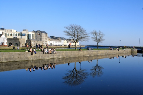 A sunny day in Galway