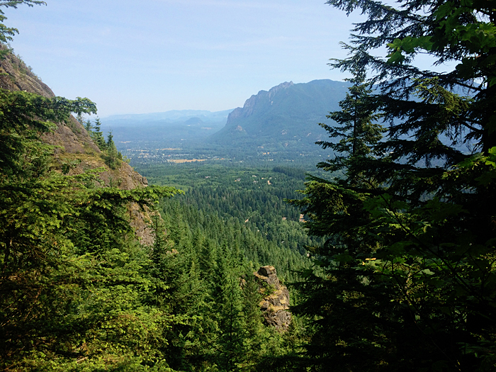 My first hike in Washington. Unfortunately it's hard to reach a lot of the best trails without a car, but I'm trying.