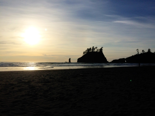We went camping in Olympic National Park for Labor Day weekend, and drove to some amazing beaches on the coast.